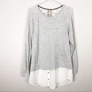 Anthro Dolan Long Sleeve Top XS